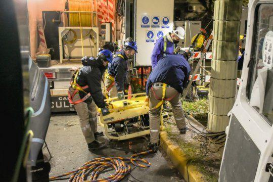 malena galmarini superviso un operativo de inspeccion de rios subterraneos