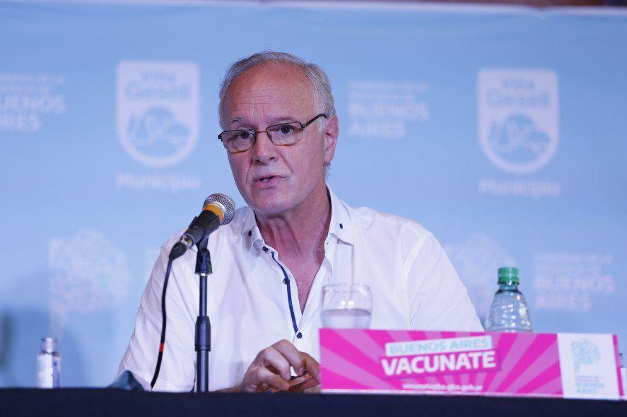 Gollán habló sobre el récord de contagios y de vacunados