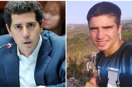 ?fue un crimen cargado de odio?: el mensaje del ministro del interior tras la muerte del joven de canuelas