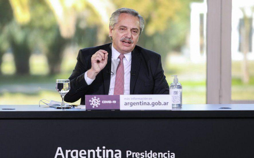 El Presidente anunció obras en rutas bonaerenses y para cuatro provincias
