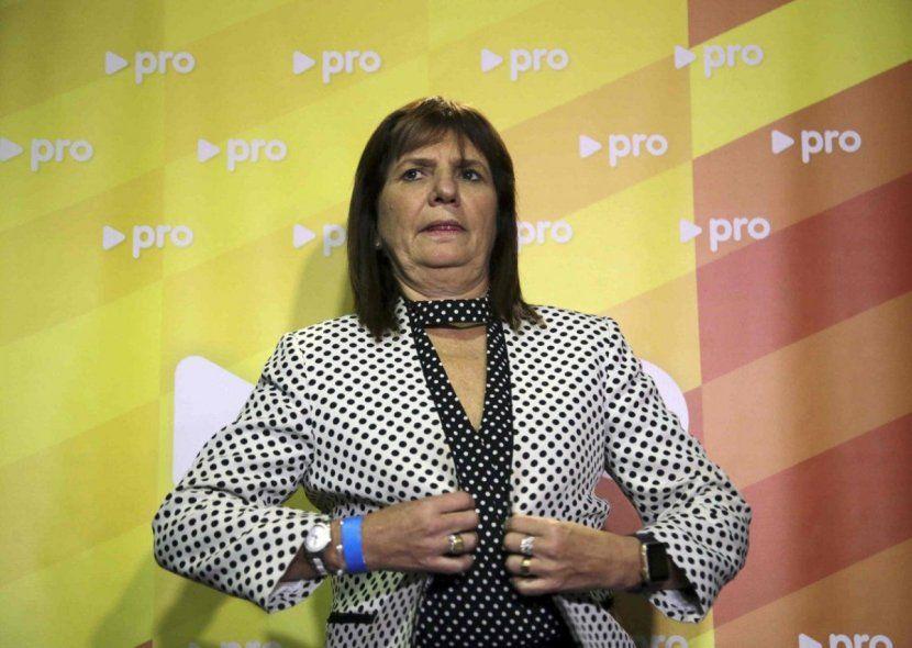 Patricia Bullrich: el Presidente está sobrepasado o nopiensa antes de hablar.