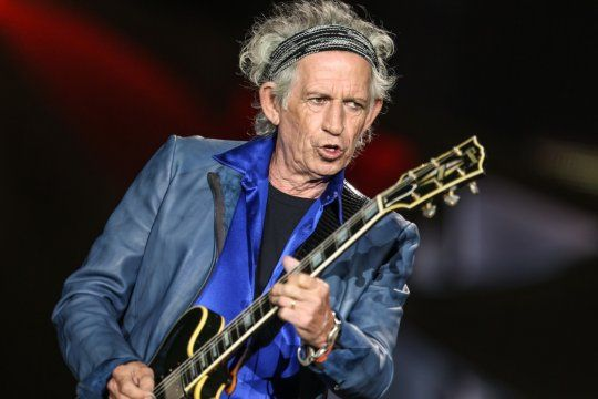 Keith Richards cumple 77 años de puro rock