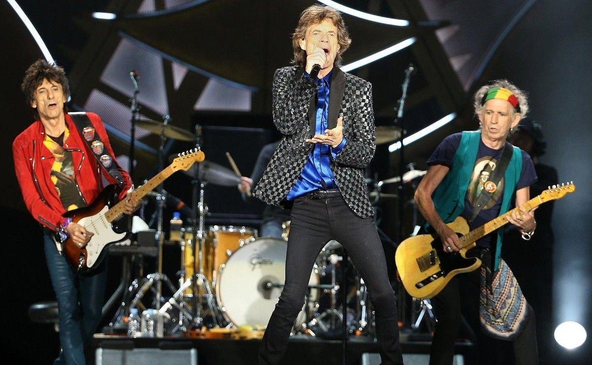 Los Stones tocaron por primera vez sin Charlie Watts. Fue en una fiesta privada en el Gillette Stadium de Boston para 300 personas.