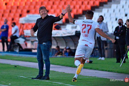 Zielinski confía en Leandro Díaz para el ataque de Estudiantes.