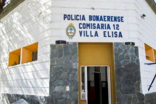 En el operativo intervino personal de la comisaría de Villa Elisa