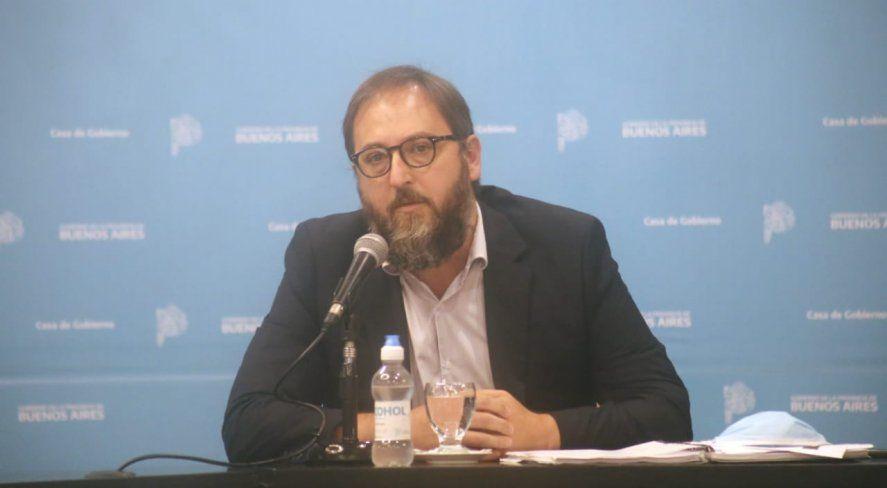 El subsecretario de Energía, Gastón Ghioni, detalló cómo será el aumento de la tarifa de luz