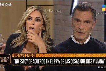 El actor Gustavo Garzón dejó al descubierto las tretas periodísticas de Viviana Canosa y Luis Novaresio saltó a defenderla
