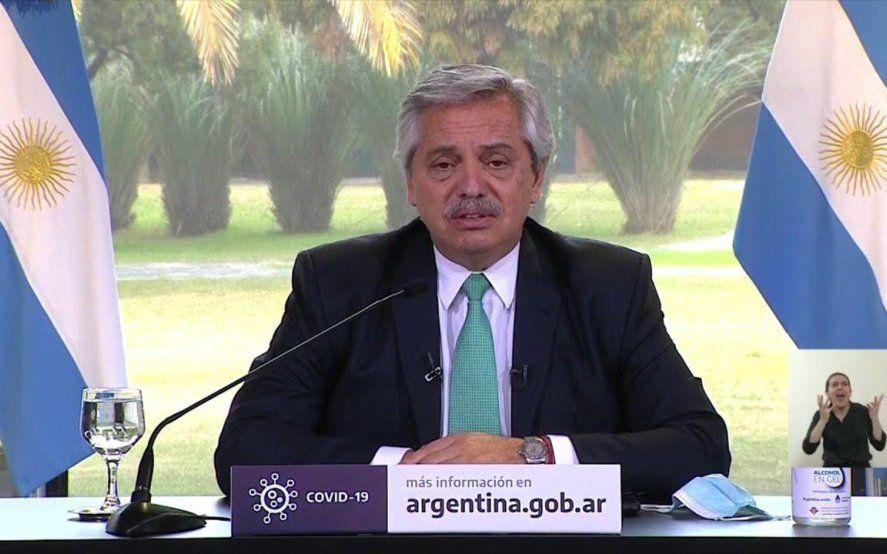 Alberto Fernández ratificó la continuidad del IFE y el ATP