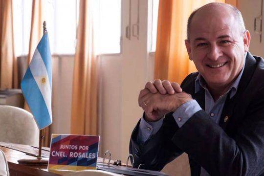 Mariano Uset, intendente de Coronel Rosales, abrió la polémica por las vacunas