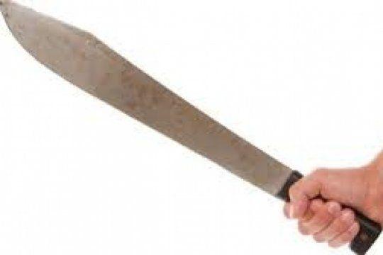 ensenada: amenazo a la suegra con un machete y lo detuvieron