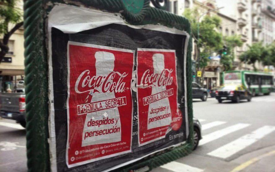 Foto: Trabajadores de Coca Cola en Lucha