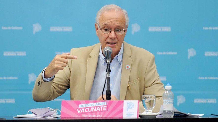 Vacunas: Gollan dijo que el gobierno de la provincia podría vacunar a la población de 18 a 40 años para antes de septiembre