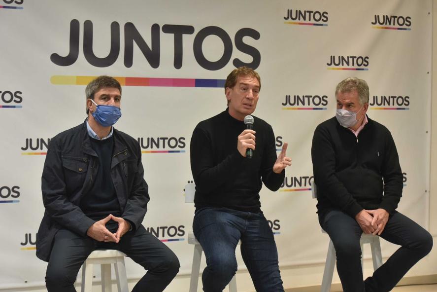 Diego Santilli y Héctor Gay en Bahía Blanca
