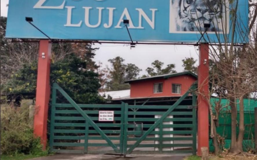Inspección en el zoo de Luján: mirá cómo encontraron el lugar