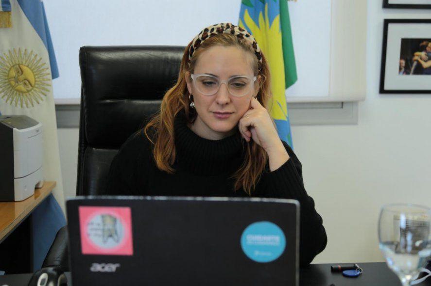 La ministra de Trabajo
