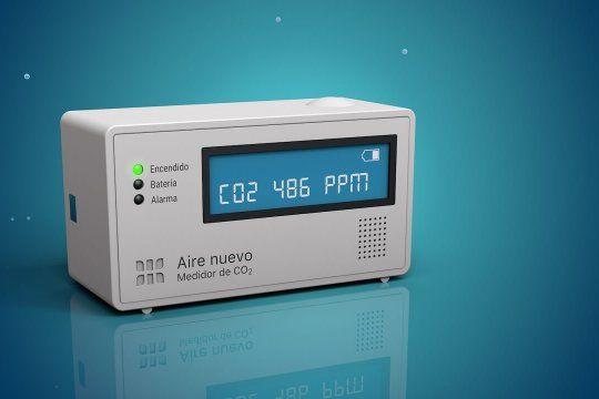 Los medidores de dióxido de carbono permiten controlar la pureza del aire y evitar los contagios de coronavirus.