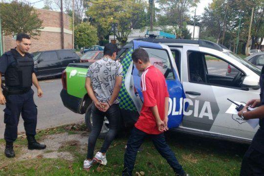detuvieron a una banda de chicos acusados por un robo en hernandez
