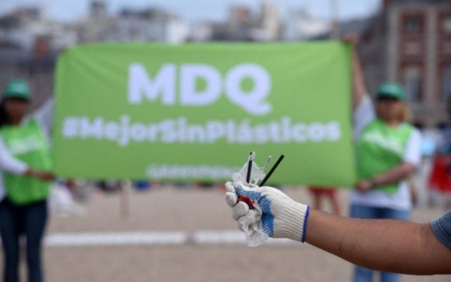 """Medio ambiente: el primer viernes de cada mes será el """"Día sin Descartables"""" en Mar del Plata"""