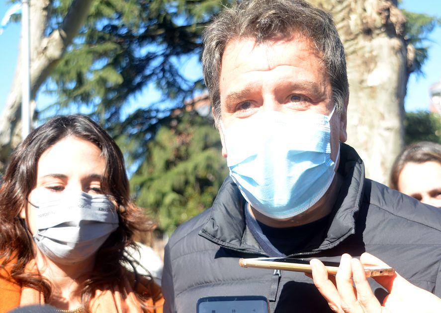 Facundo Manes votará en la Ciudad Autonoma de Buenos Aires.