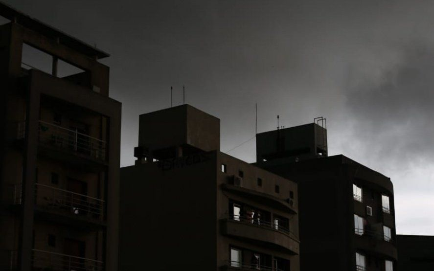 Fuertes tormentas y riesgo amarillo para gran parte de la provincia