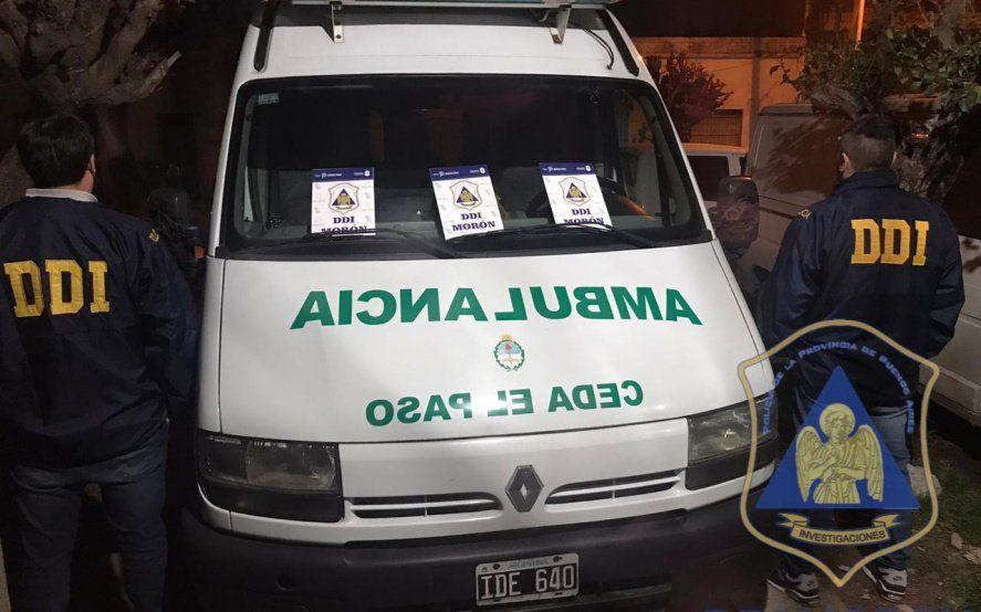 """Cayeron los """"narcomédicos"""": distribuían cocaína en una ambulancia"""