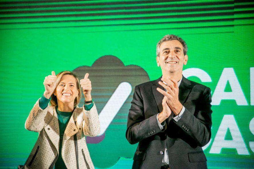 Florencio Randazzo y Carolina Castro