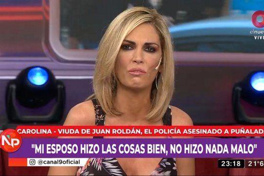 Viviana Canosa se quebró al aire y responsabilizó al Gobierno por el asesinato del Policía