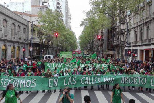 #19f: la marea verde sale a las calles en todo el pais por el derecho al aborto legal, seguro y gratuito