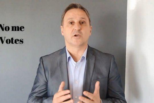 no se vota ni el: el candidato a gobernador de gomez centurion salio a pedir que voten a macri y vidal