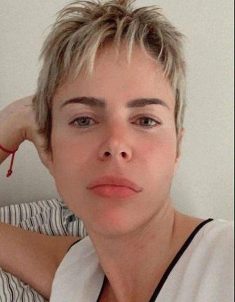 El nuevo look de Marianela Mirra.