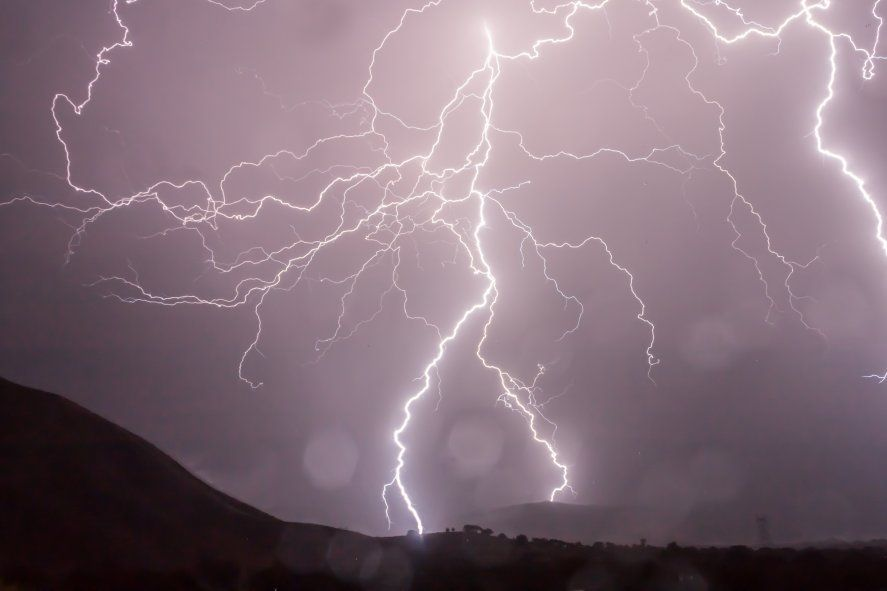 El SMN emitió un alerta meteorológico por tormentas fuertes para este viernes