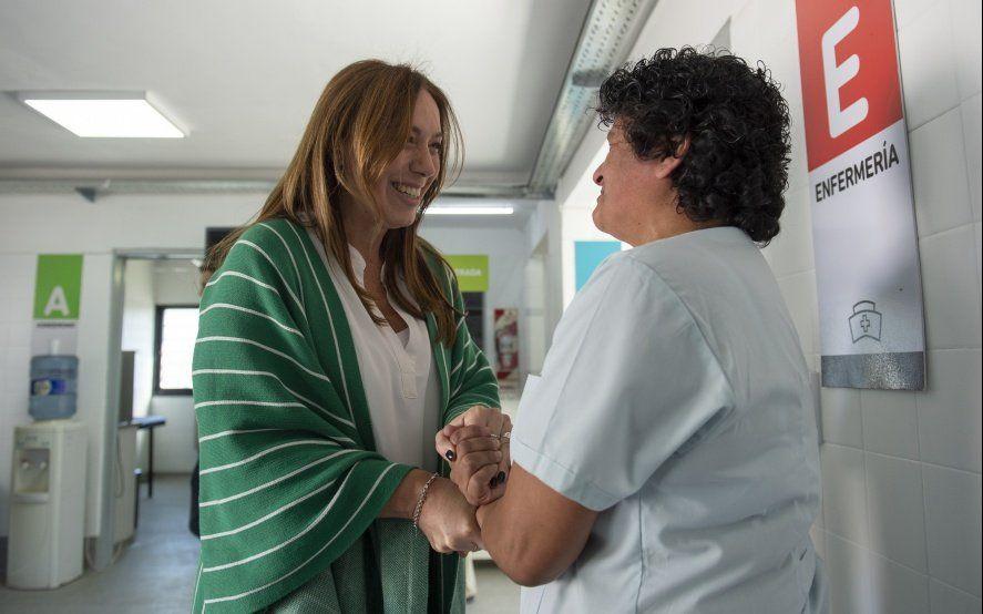 María Eugenia Vidal y otra visita a San Miguel para reforzar un oficialismo muy desdibujado