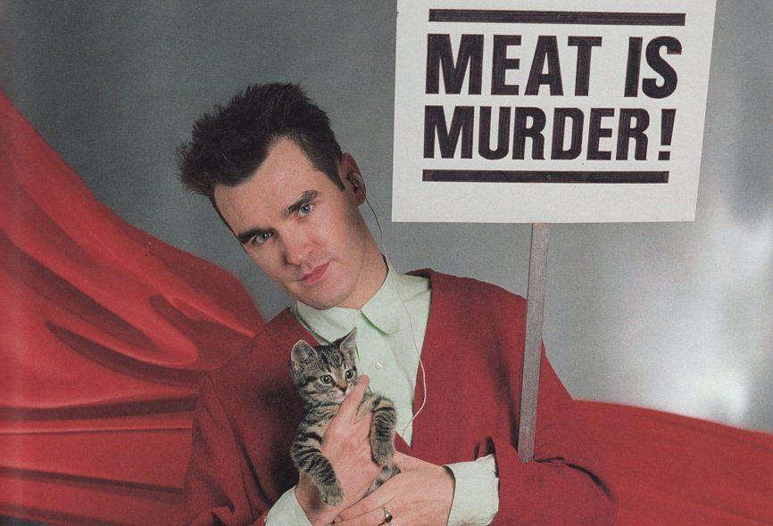 Morrissey y su ferviente amor hacia los animales.
