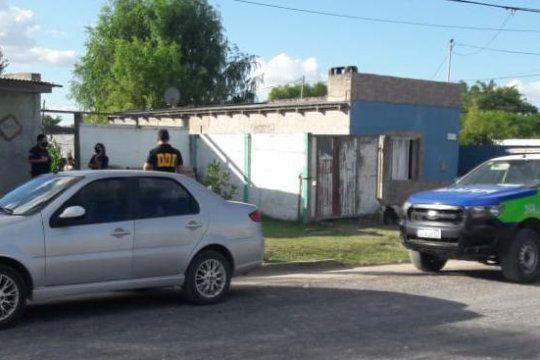Los allanamientos fueron realizados por detectives de la DDI de Azul