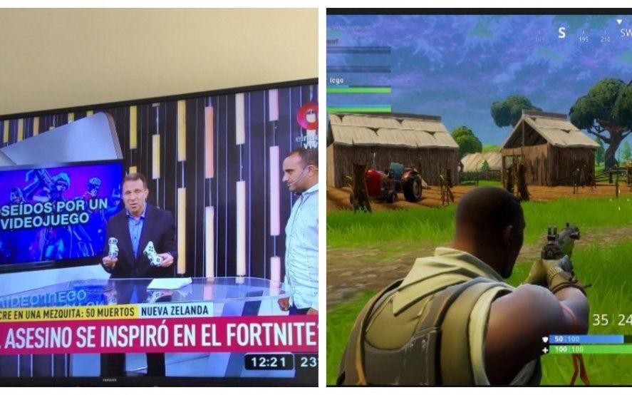 Polémica: relacionan la masacre de Nueva Zelanda con el juego Fortnite