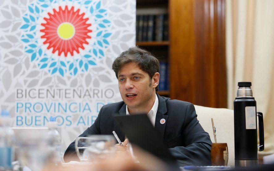 Kicillof analizó la situación epidemiológica de la Provincia