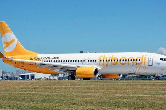 mas dolores de cabeza para flybondi: otro fiscal pidio suspender los vuelos desde el palomar