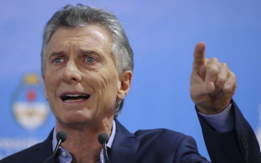 """Macri dijo que hay una """"deuda baja"""" y que en el gobierno anterior habíamos estado en una gran borrachera"""