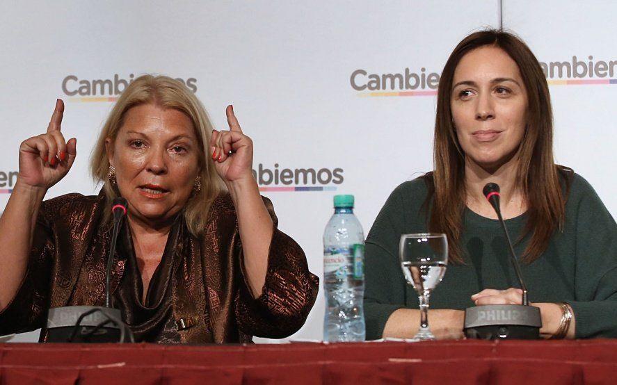 Elisa Carrió, lista para disputar la candidatura bonaerense si es que no va María Eugenia Vidal