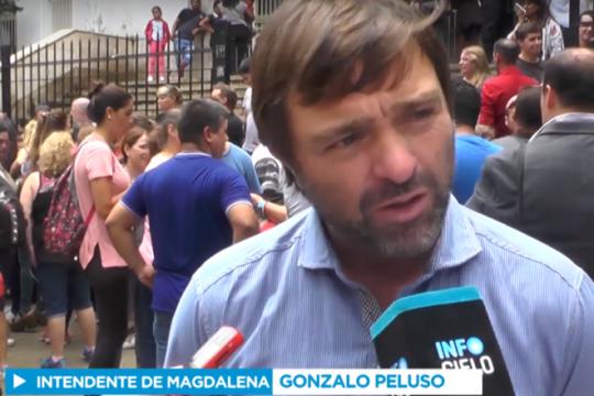 el intendente de magdalena responsabilizo a felipe sola porla muerte de los 33 presos