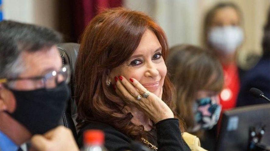 Cristina cuestionó la tapa de Clarín
