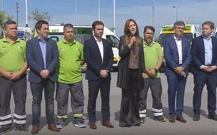 Vidal anunció la ampliación del SAME a nuevos municipios de la Provincia