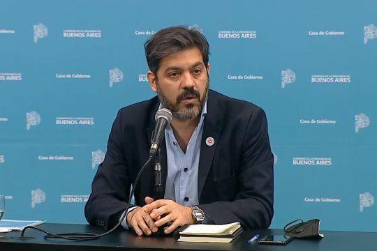 El jefe de Gabinete bonaerense, Carlos Bianco, opinó sobre los covidiotas.