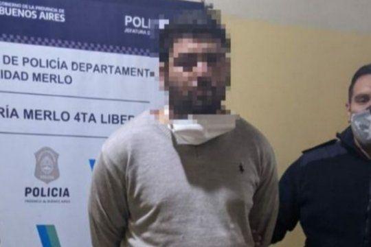 El hombre acusado de matar al cuñado en Merlo