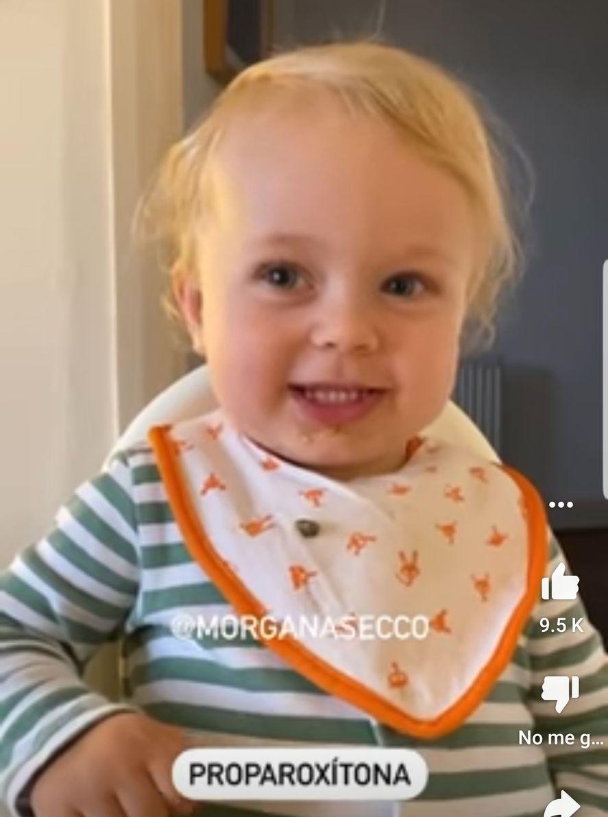 Alice, la pequeña nena de 2 años que es furor en Tiktok y otras redes sociales, diciendo palabras difíciles en portugués