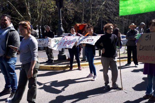 la plata: trabajadores del ex zoo exigen salarios dignos y mejores condiciones laborales