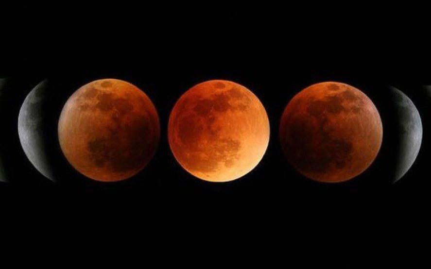 Último eclipse lunar del año: cómo y a qué hora verlo en vivo desde Argentina