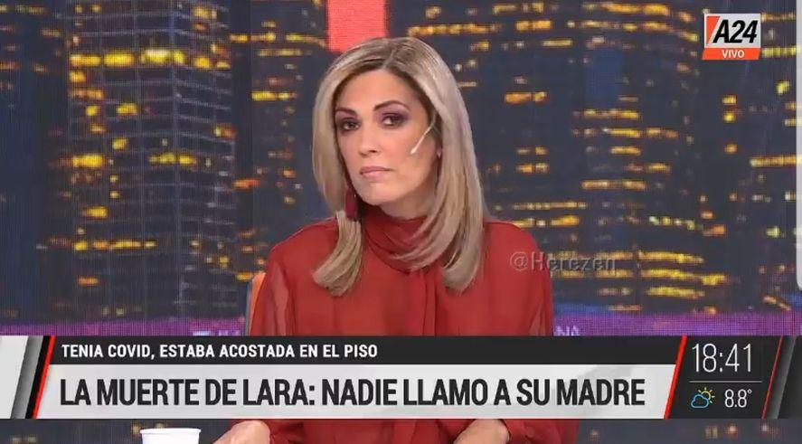 Viviana Canosa volvió a embestir contra los médicos. Los amenazó por matar más gente que la que mata el covid