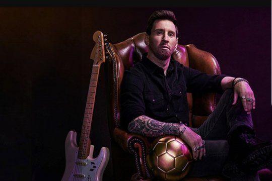 Lionel Messi firmó un acuerdo millonario para ser la cara del histórico restaurant de Rock inglés, en el 50 aniversario de su origen