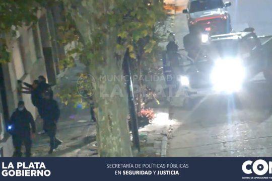 video: detenida por vender droga en la zona roja de la plata